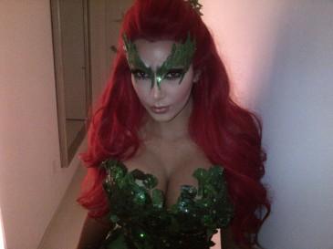 Kim Kardashan as Poison Ivy