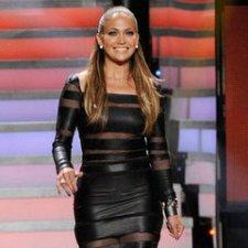 Jennifer-Lopez-Sexy-Black-Dress-American-Idol-Pictures